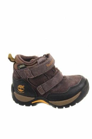 Παιδικά παπούτσια Timberland, Μέγεθος 24, Χρώμα Βιολετί, Φυσικό σουέτ, γνήσιο δέρμα, Τιμή 32,08€