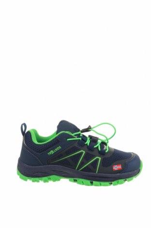 Παιδικά παπούτσια Trollkids, Μέγεθος 32, Χρώμα Μπλέ, Δερματίνη, κλωστοϋφαντουργικά προϊόντα, Τιμή 31,20€