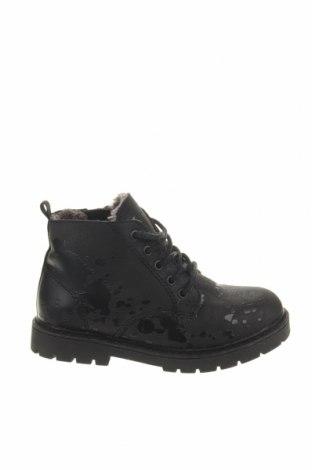 Παιδικά παπούτσια Zara, Μέγεθος 25, Χρώμα Μαύρο, Δερματίνη, Τιμή 12,18€