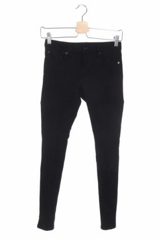 Детски панталон 7 For All Mankind, Размер 11-12y/ 152-158 см, Цвят Черен, 59% вискоза, 36% полиамид, 5% еластан, Цена 29,23лв.