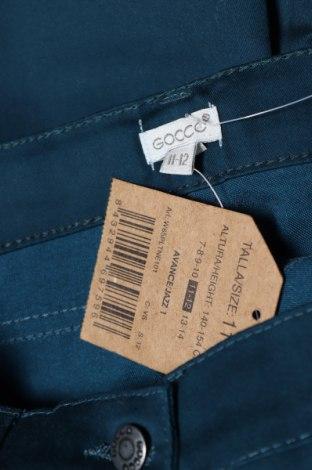 Παιδικό παντελόνι Gocco, Μέγεθος 11-12y/ 152-158 εκ., Χρώμα Πράσινο, 71% βαμβάκι, 27% πολυεστέρας, 2% ελαστάνη, Τιμή 6,32€