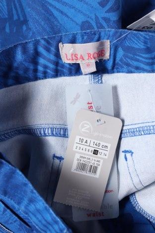 Παιδικό παντελόνι Lila Rose, Μέγεθος 9-10y/ 140-146 εκ., Χρώμα Μπλέ, 59% βαμβάκι, 38% πολυεστέρας, 3% ελαστάνη, Τιμή 5,34€