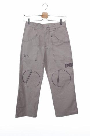 Детски панталон PUMA, Размер 11-12y/ 152-158 см, Цвят Сив, Памук, Цена 9,00лв.