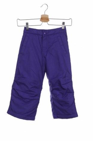 Dětské kalhoty pro zimní sporty  Alpinetek, Velikost 2-3y/ 98-104 cm, Barva Fialová, Polyester, Cena  379,00Kč
