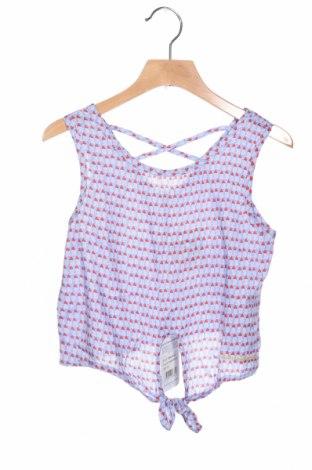 Μπλουζάκι αμάνικο παιδικό LuluCastagnette, Μέγεθος 5-6y/ 116-122 εκ., Χρώμα Μπλέ, Βισκόζη, Τιμή 7,01€