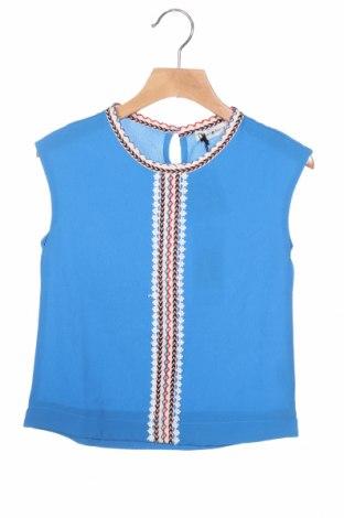 Μπλουζάκι αμάνικο παιδικό Mini Molly, Μέγεθος 4-5y/ 110-116 εκ., Χρώμα Μπλέ, 97% πολυεστέρας, 3% ελαστάνη, Τιμή 9,48€