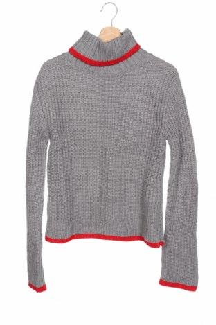Παιδικό πουλόβερ, Μέγεθος 15-18y/ 170-176 εκ., Χρώμα Γκρί, Ακρυλικό, Τιμή 15,43€