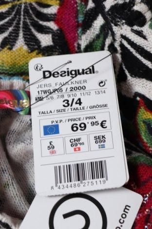Παιδικό πουλόβερ Desigual, Μέγεθος 2-3y/ 98-104 εκ., Χρώμα Πολύχρωμο, Βαμβάκι, Τιμή 11,23€