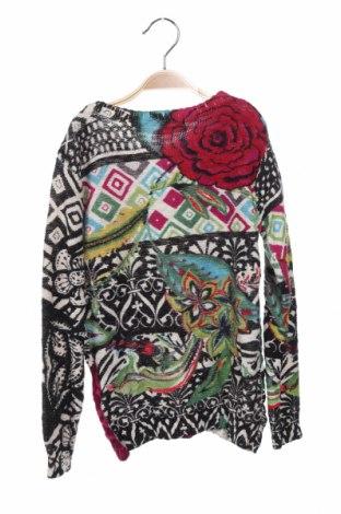 Παιδικό πουλόβερ Desigual, Μέγεθος 4-5y/ 110-116 εκ., Χρώμα Πολύχρωμο, Βαμβάκι, Τιμή 11,23€