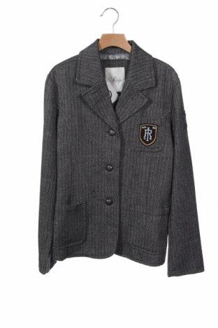 Παιδικό σακάκι Rags, Μέγεθος 14-15y/ 168-170 εκ., Χρώμα Μαύρο, 60% μαλλί, 40%ακρυλικό, Τιμή 15,59€