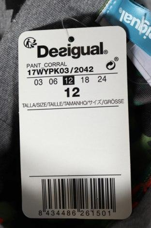 Παιδική κάτω φόρμα Desigual, Μέγεθος 9-12m/ 74-80 εκ., Χρώμα Γκρί, 53% πολυεστέρας, 46% βαμβάκι, 1% ελαστάνη, Τιμή 8,51€