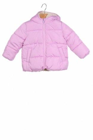 Παιδικό μπουφάν Gap Baby, Μέγεθος 2-3y/ 98-104 εκ., Χρώμα Βιολετί, 100% πολυεστέρας, Τιμή 25,47€