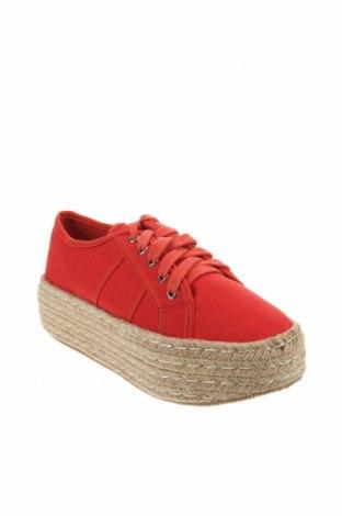 Εσπάδριλλες CAFèNOIR, Μέγεθος 37, Χρώμα Κόκκινο, Κλωστοϋφαντουργικά προϊόντα, Τιμή 20,65€