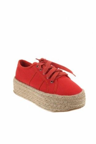 Εσπάδριλλες CAFèNOIR, Μέγεθος 36, Χρώμα Κόκκινο, Κλωστοϋφαντουργικά προϊόντα, Τιμή 20,65€