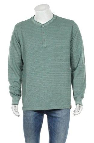 Ανδρική μπλούζα Camel Active, Μέγεθος XL, Χρώμα Πράσινο, Τιμή 14,13€
