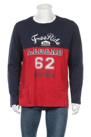 Ανδρική μπλούζα Livergy, Μέγεθος L, Χρώμα Μπλέ, Βαμβάκι, Τιμή 5,16€