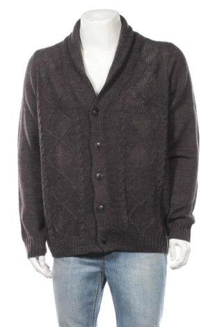 Ανδρική ζακέτα Livergy, Μέγεθος XL, Χρώμα Γκρί, 85% πολυακρυλικό, 15% μαλλί, Τιμή 16,37€