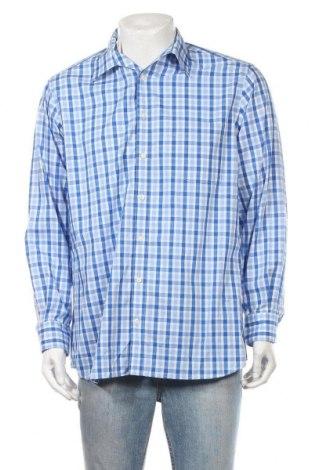 Ανδρικό πουκάμισο Walbusch, Μέγεθος L, Χρώμα Μπλέ, Βαμβάκι, Τιμή 9,35€