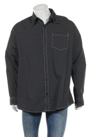 Мъжка риза Accanto, Размер XXL, Цвят Черен, Памук, Цена 7,14лв.