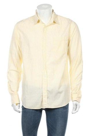 Мъжка риза Bluenotes, Размер M, Цвят Жълт, Памук, Цена 4,73лв.