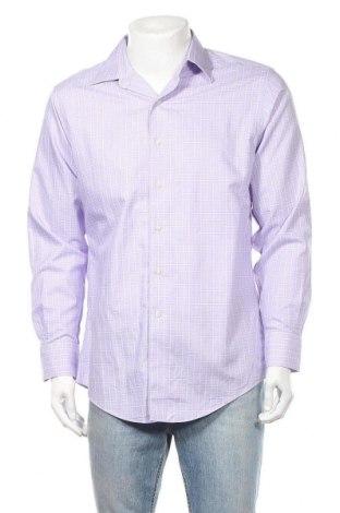 Ανδρικό πουκάμισο Brooks Brothers, Μέγεθος L, Χρώμα Βιολετί, 100% βαμβάκι, Τιμή 16,05€