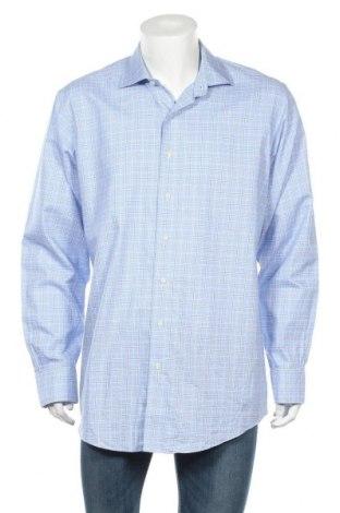 Ανδρικό πουκάμισο Brooks Brothers, Μέγεθος XL, Χρώμα Μπλέ, Βαμβάκι, Τιμή 7,90€