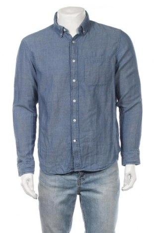 Ανδρικό πουκάμισο Club Monaco, Μέγεθος L, Χρώμα Μπλέ, Βαμβάκι, Τιμή 19,87€