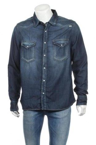 Ανδρικό πουκάμισο Driver, Μέγεθος XL, Χρώμα Μπλέ, Τιμή 12,34€