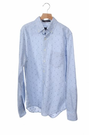Ανδρικό πουκάμισο Gant, Μέγεθος S, Χρώμα Μπλέ, Βαμβάκι, Τιμή 16,96€