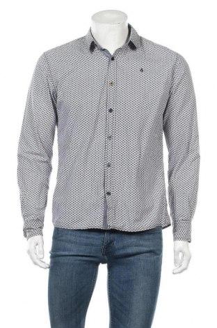 Ανδρικό πουκάμισο Gin Tonic, Μέγεθος M, Χρώμα Λευκό, Βαμβάκι, Τιμή 5,71€