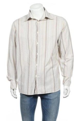 Ανδρικό πουκάμισο Gin Tonic, Μέγεθος L, Χρώμα  Μπέζ, 65% βαμβάκι, 35% πολυεστέρας, Τιμή 2,92€