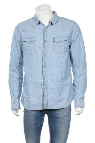 Ανδρικό πουκάμισο Japan Rags by Le Temps des Cerises, Μέγεθος XL, Χρώμα Μπλέ, Βαμβάκι, Τιμή 27,53€