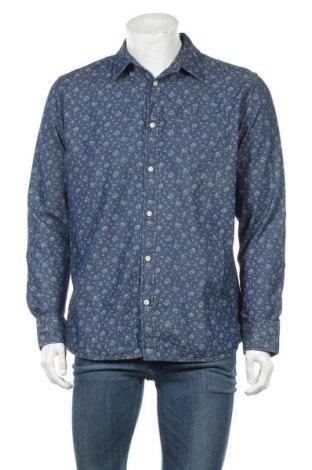 Ανδρικό πουκάμισο Livergy, Μέγεθος L, Χρώμα Μπλέ, Βαμβάκι, Τιμή 9,74€