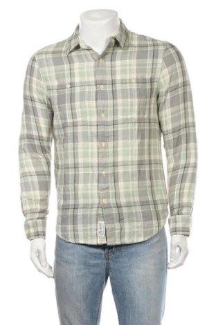 Мъжка риза Lucky Brand, Размер S, Цвят Многоцветен, Памук, Цена 6,56лв.