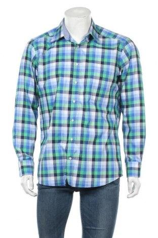Ανδρικό πουκάμισο Maerz Muenchen, Μέγεθος L, Χρώμα Πολύχρωμο, Βαμβάκι, Τιμή 10,91€
