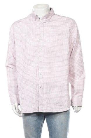 Ανδρικό πουκάμισο Marks & Spencer Blue Harbour, Μέγεθος XL, Χρώμα Ρόζ , 99% βαμβάκι, 1% ελαστάνη, Τιμή 5,92€