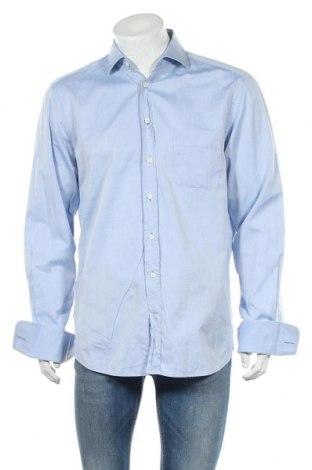 Ανδρικό πουκάμισο Van Laack, Μέγεθος L, Χρώμα Μπλέ, Τιμή 10,98€