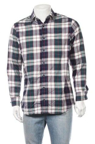 Ανδρικό πουκάμισο Walbusch, Μέγεθος M, Χρώμα Πολύχρωμο, 87% βαμβάκι, 13% ελαστάνη, Τιμή 10,52€