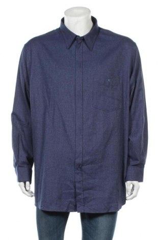 Ανδρικό πουκάμισο Walbusch, Μέγεθος XXL, Χρώμα Μπλέ, Βαμβάκι, Τιμή 7,86€