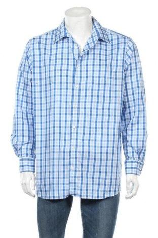 Ανδρικό πουκάμισο Walbusch, Μέγεθος L, Χρώμα Μπλέ, Βαμβάκι, Τιμή 5,00€