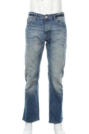 Мъжки дънки Calvin Klein Jeans, Размер M, Цвят Син, Памук, Цена 16,54лв.