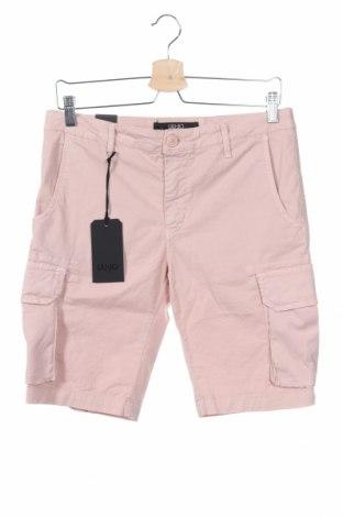 Pantaloni scurți de bărbați Liu Jo, Mărime S, Culoare Roz, 97% bumbac, 3% elastan, Preț 76,38 Lei