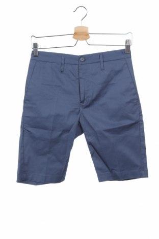 Pantaloni scurți de bărbați Liu Jo, Mărime XS, Culoare Albastru, 98% bumbac, 2% elastan, Preț 72,37 Lei