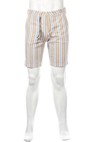 Pantaloni scurți de bărbați Liu Jo, Mărime S, Culoare Multicolor, 51% bumbac, 49% in, Preț 73,19 Lei