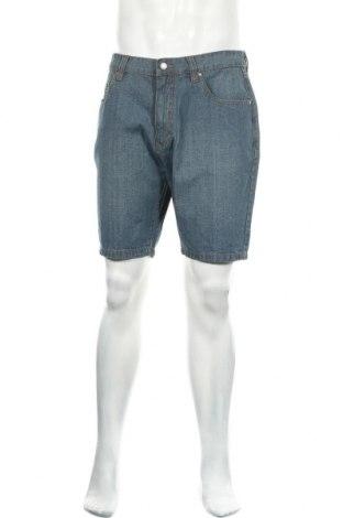 Ανδρικό κοντό παντελόνι Livergy, Μέγεθος L, Χρώμα Μπλέ, Βαμβάκι, Τιμή 13,37€