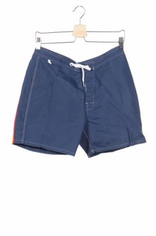 Pantaloni scurți de bărbați Sundek, Mărime S, Culoare Albastru, 100% poliester, Preț 48,52 Lei