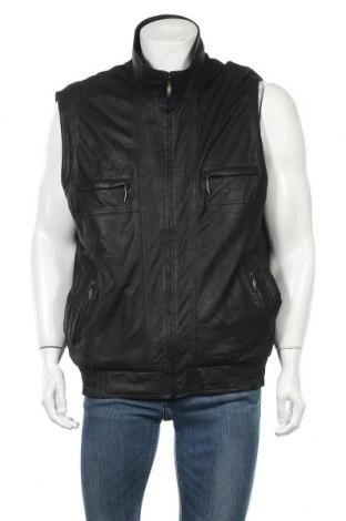 Ανδρικό δερμάτινο γιλέκο Walbusch, Μέγεθος XL, Χρώμα Μαύρο, Γνήσιο δέρμα, Τιμή 11,20€