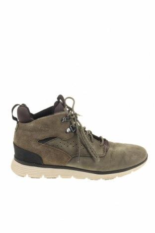 Мъжки обувки Timberland, Размер 40, Цвят Зелен, Естествена кожа, текстил, Цена 60,90лв.