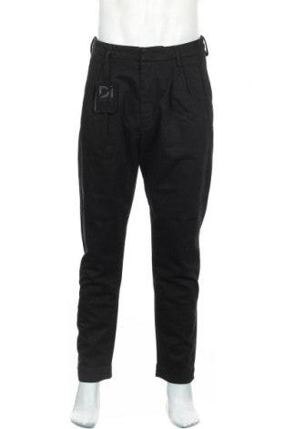 Ανδρικό παντελόνι Dondup, Μέγεθος M, Χρώμα Μαύρο, 65% πολυεστέρας, 35% βαμβάκι, Τιμή 33,74€