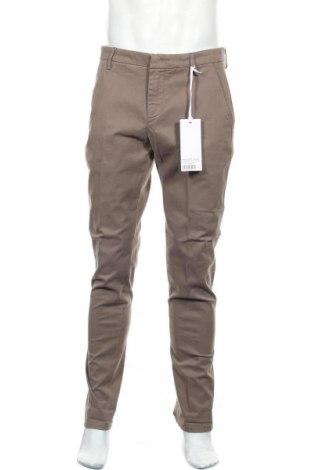 Ανδρικό παντελόνι Dondup, Μέγεθος L, Χρώμα  Μπέζ, 68% βαμβάκι, 30% lyocell, 2% ελαστάνη, Τιμή 33,74€